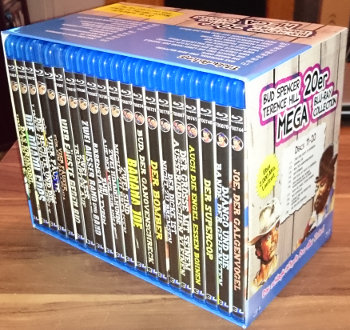 Bud Spencer und Terence Hill - 20er Mega Blu-ray Collection (20 Blu-rays)