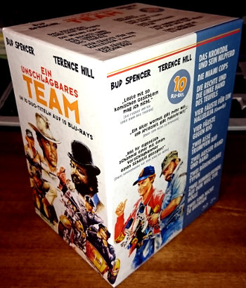Bud Spencer & Terence Hill - Ein unschlagbares Team (10 Blu-rays)
