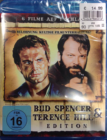6 Filme auf 1 Schlag - Bud Spencer & Terence Hill Edition