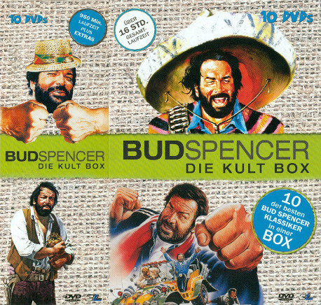Bud Spencer - Die Kult Box (10 DVDs)