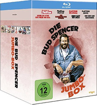 Die Bud Spencer Jumbo Box (8 Blu-rays)