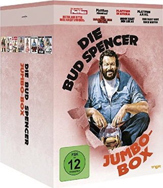 Die Bud Spencer Jumbo Box (8 DVDs)