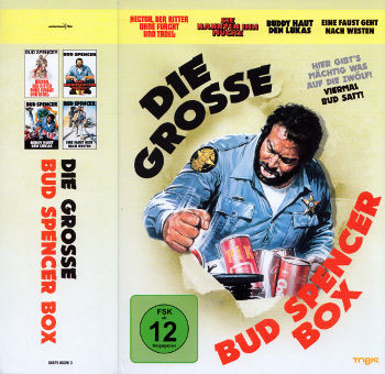 Die grosse Bud Spencer Box (4 DVDs)