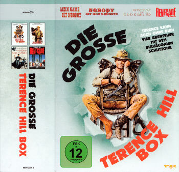 Die grosse Terence Hill Box (4 DVDs)