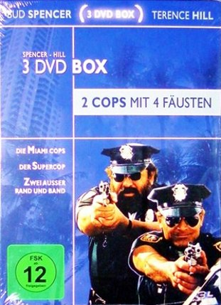 Spencer - Hill - 3 DVD Box - 2 Cops mit 4 Fäusten (3 DVDs)