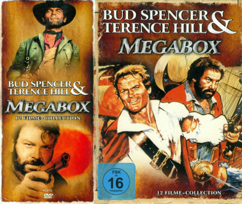 Bud Spencer & Terence Hill - Megabox - 12 Filme Collection (6 DVDs)
