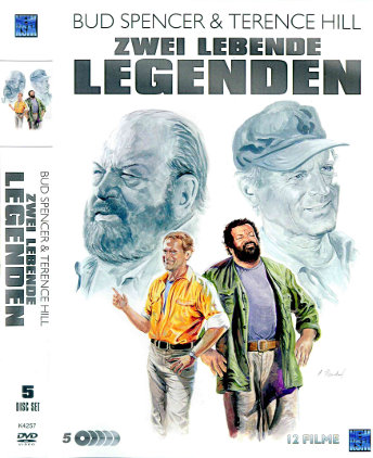 Bud Spencer & Terence Hill - Zwei lebende Legenden (5 DVDs)