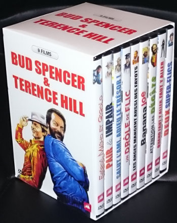 Coffret Bud Spencer & Terence Hill (9 DVDs)