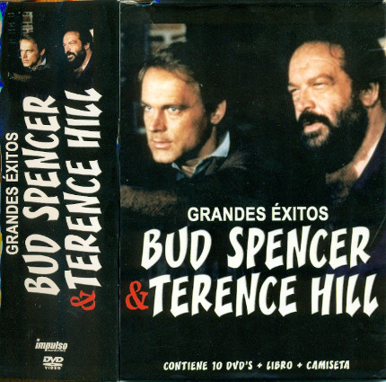 Grandes éxitos Bud Spencer & Terence Hill (10 DVDs)