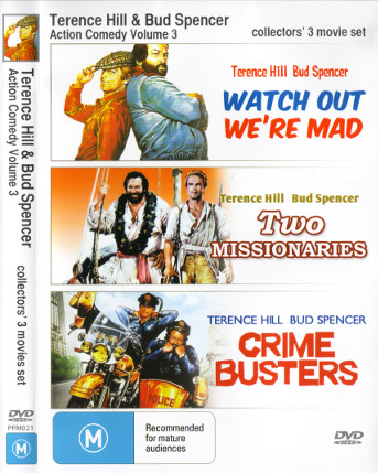 Terence Hill & Bud Spencer - Action Comedy Volume 3