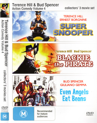 Terence Hill & Bud Spencer - Action Comedy Volume 4