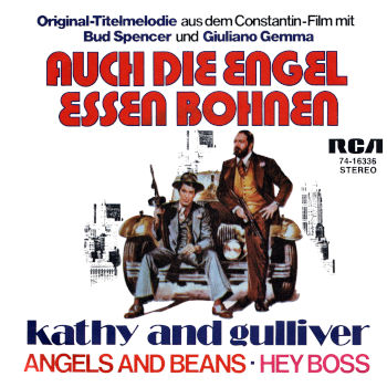Kathy and Gulliver - Angels and Beans / Hey Boss (Promo)