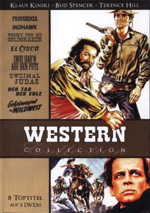 Western Collection - 8 Toptitel auf 2 DVDs