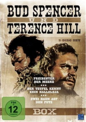 Bud Spencer & Terence Hill Box Vol. 4 (3 DVDs)