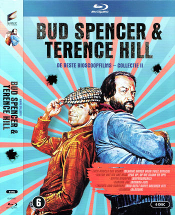 Bud Spencer & Terence Hill - De beste Bioscoop Films - Collectie II (6 Blu-rays)