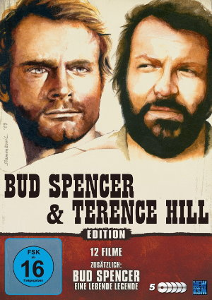 Bud Spencer & Terence Hill Edition (12 Filme auf 5 DVDs)