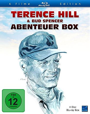 Terence Hill & Bud Spencer Abenteuer Box (4 Blu-rays)