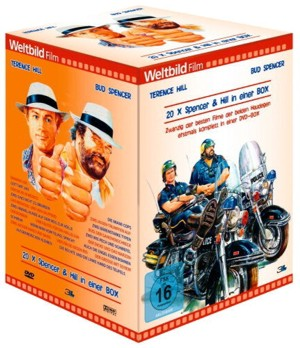 Bud Spencer und Terence Hill Monster Box, Weltbild-Edition (20 DVDs) - Neuauflage