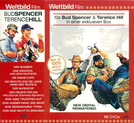 Bud Spencer & Terence Hill 10er Box - Weltbild-Edition (10 DVDs)